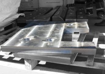 Боковая плита камеры трамбовки пресс-ножниц