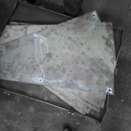 Футеровка бетоносмесителя. Материал Quard 450