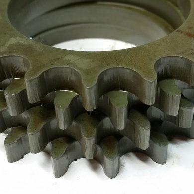 Пример гидроабразивной резки металла