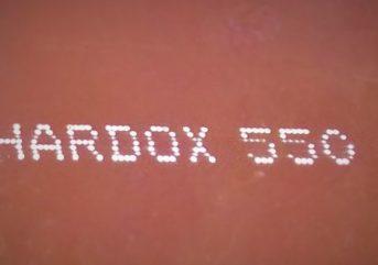 Износостойкая сталь Hardox 550